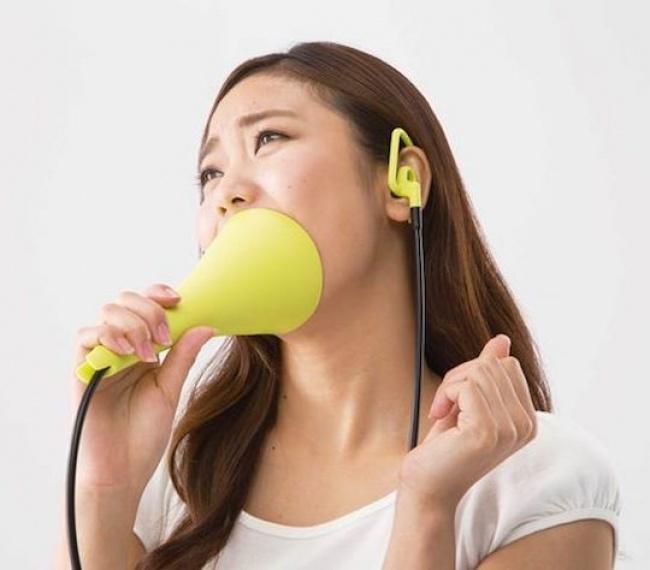 Specjalny mikrofon do karaoke
