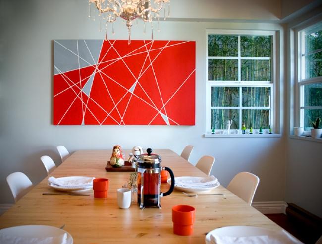 Nadaj pomieszczeniom odrobinę koloru dzięki samodzielnie wykonanemu obrazowi
