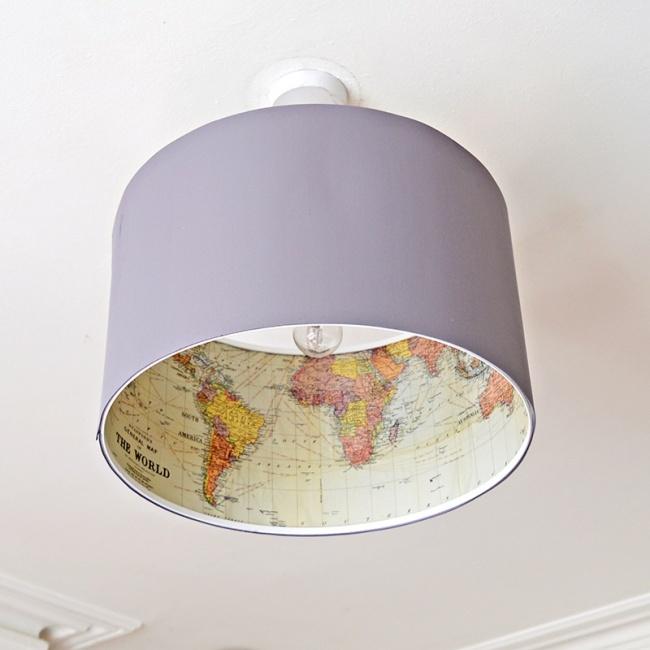 Lampa pobudzająca wyobraźnię i chęć do podróżowania