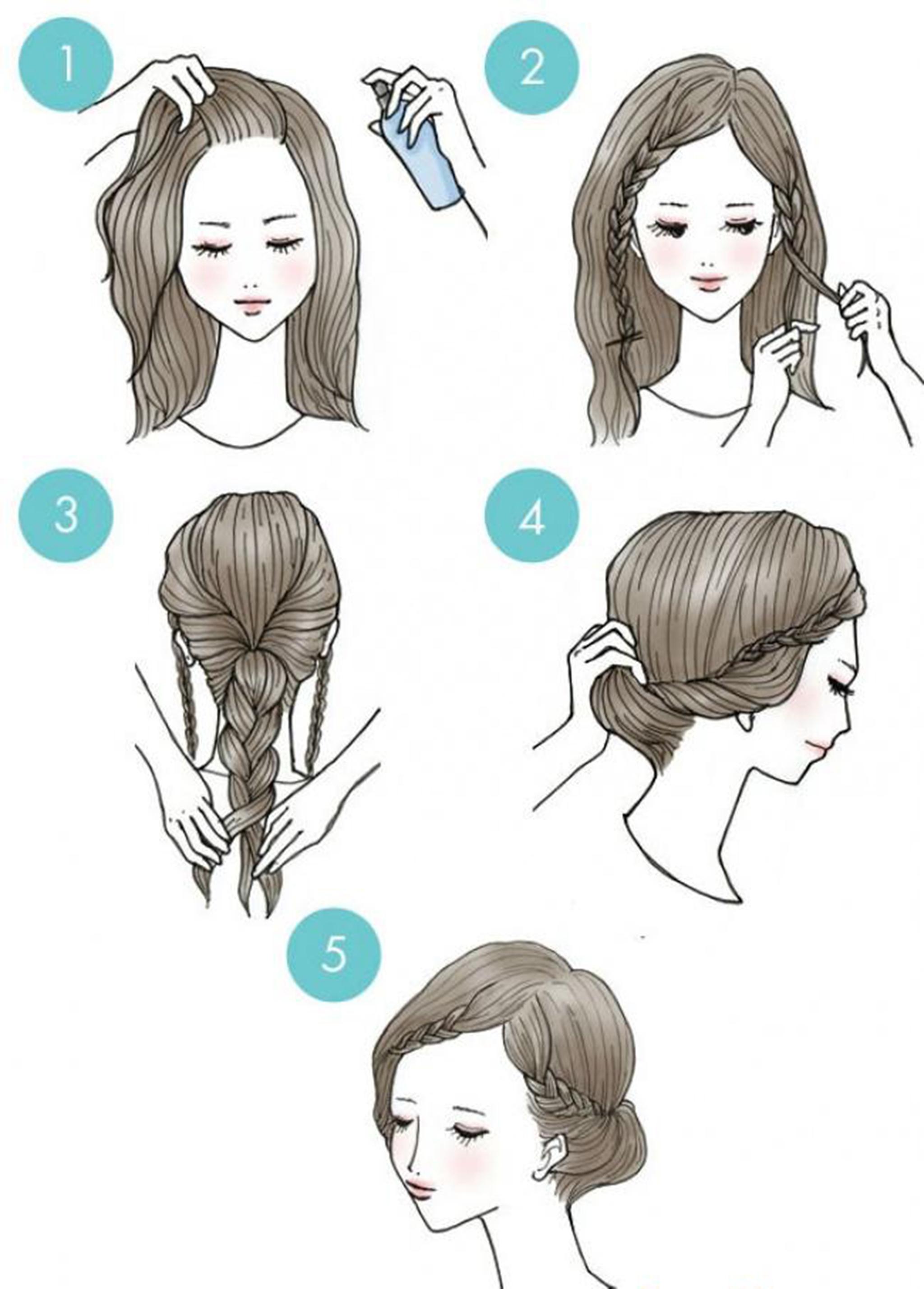 10 prostych do wykonania fryzur, które nie zajmą Ci więcej, niż parę minut cennego czasu