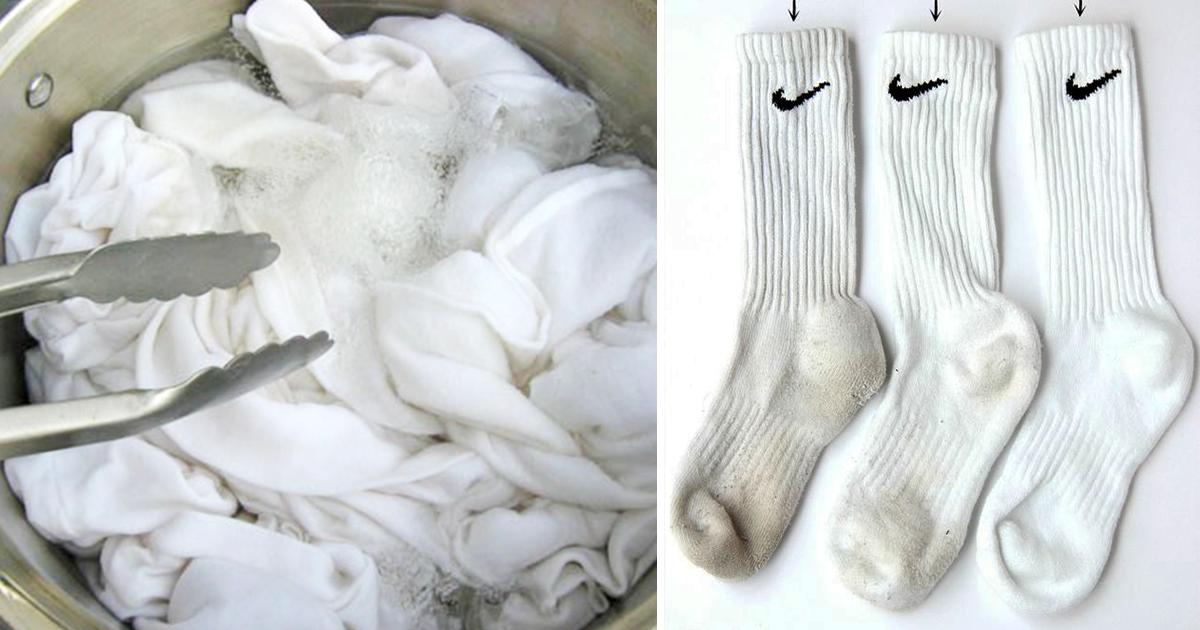 Jak doprać białe skarpetki? Oto sprawdzone sposoby na brudne
