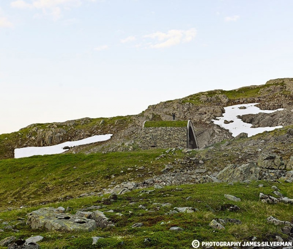 #5 Chata górka w Hordaland, Norwegia
