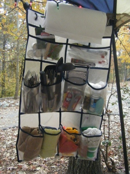 Triki na camping 20
