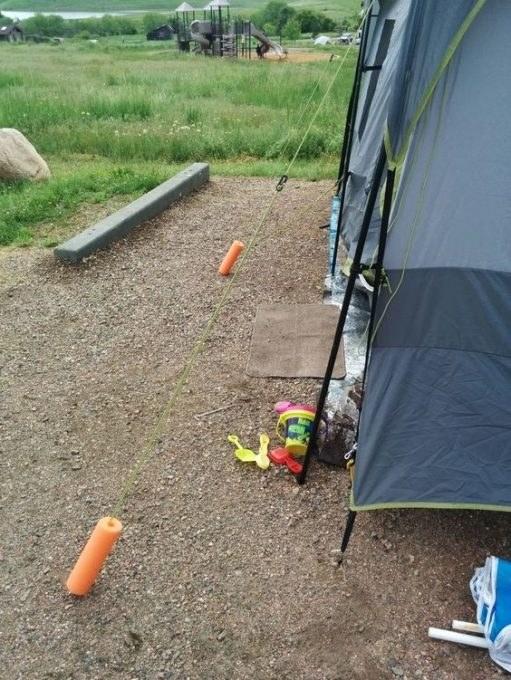śledzie do namiotu