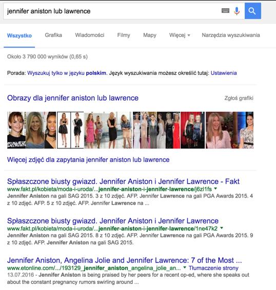 wyszukiwanie w google 1