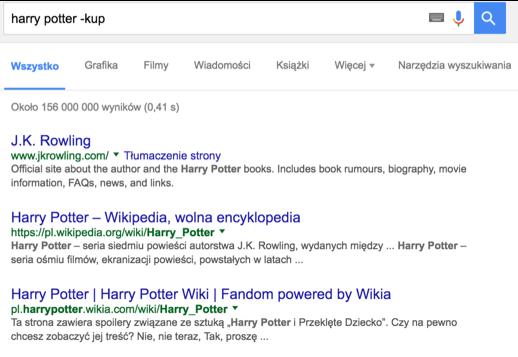 wyszukiwanie w google 10