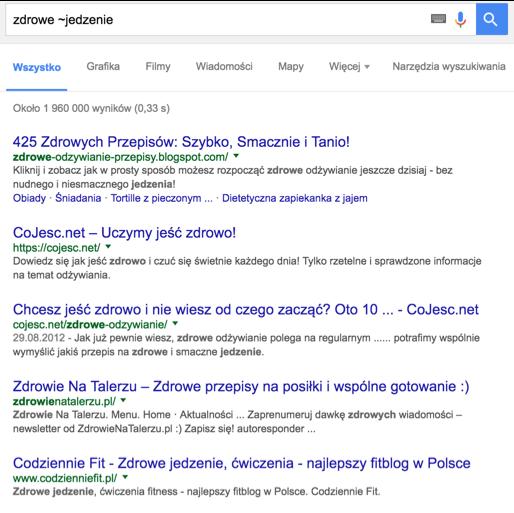 wyszukiwanie w google 2