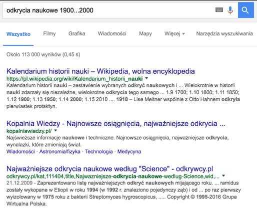 wyszukiwanie w google 6