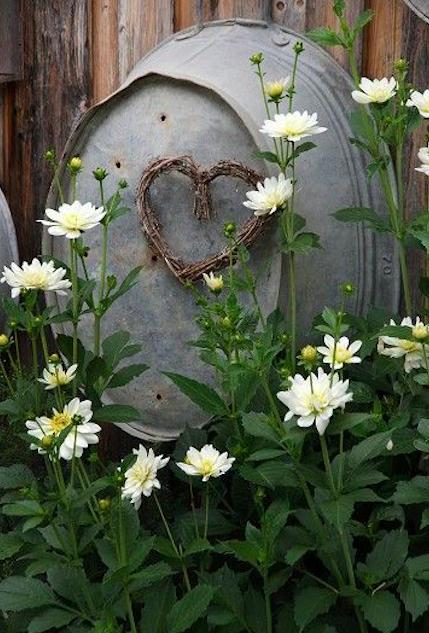 15 dekoracji ogrodowych z użyciem starych wanienek i wiader. Są tanie i wyglądają pięknie!
