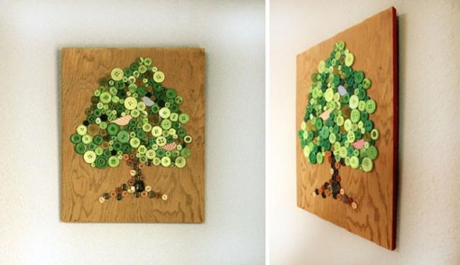 guzikowe drzewo