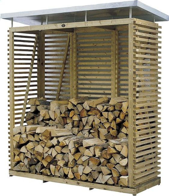 Miejsce do składowania drewna
