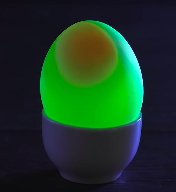 Świecące jajka wielkanocne