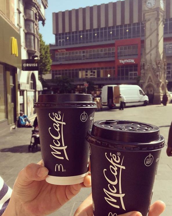 kawa z McDonald's