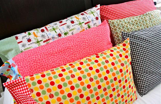 5 genialnych przedmiotów, które można zrobić ze starych poszewek na poduszki