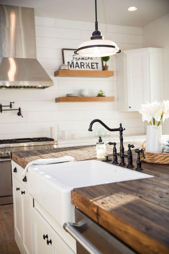 projektowanie kuchni 1 - biała kuchnia