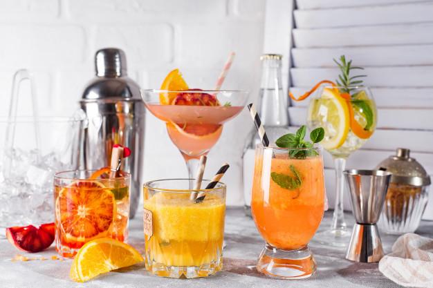 Domowy napój musujący