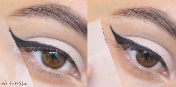 taśma klejąca 2 - makijaż oka