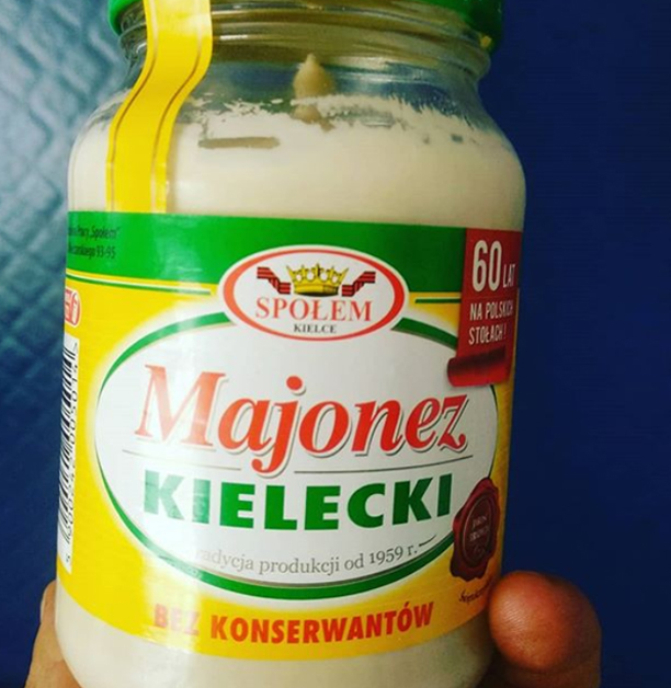 triki urodowe majonez