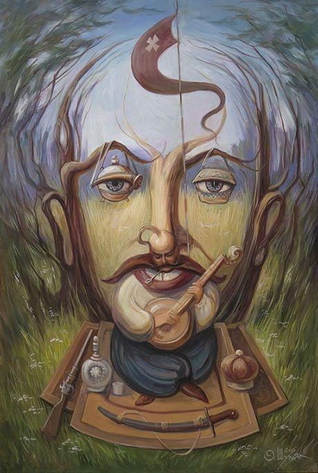 Zagadka obraz z twarzą