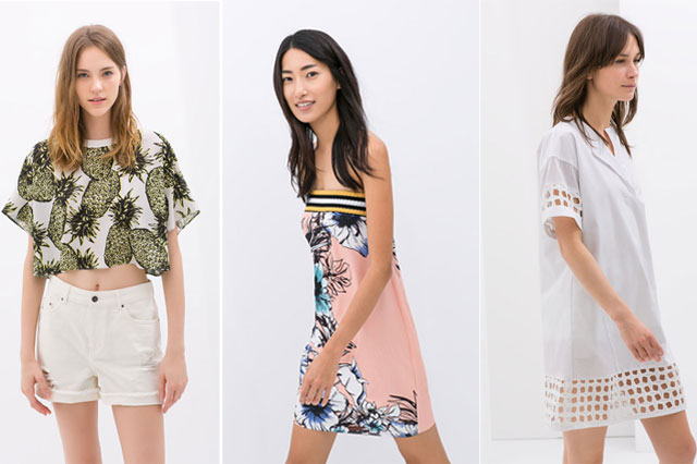 Zara - nowe kolekcje