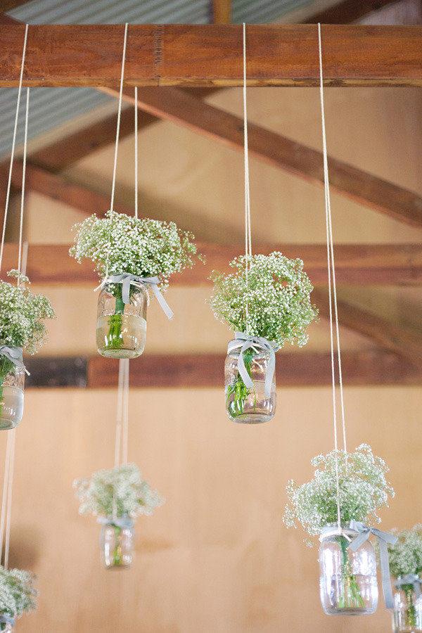 pomysły na balkon - podwieszane dekoracje