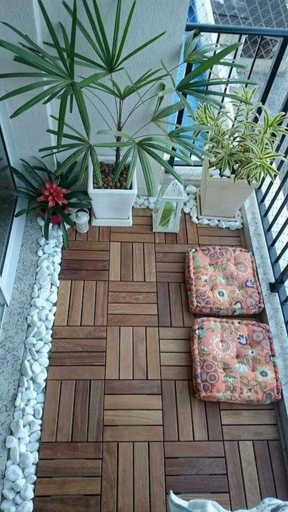 jak zmienić wygląd balkonu - podłoga