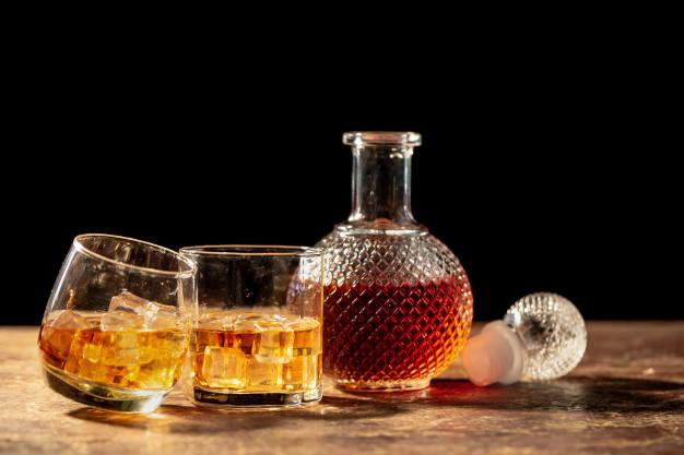 butelka whisky