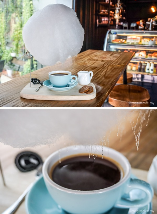nietypowe serwowanie kawy