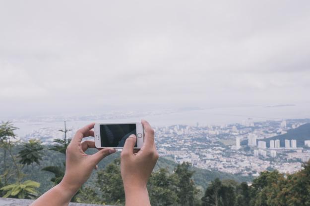 iphone i zdjęcie panoramy