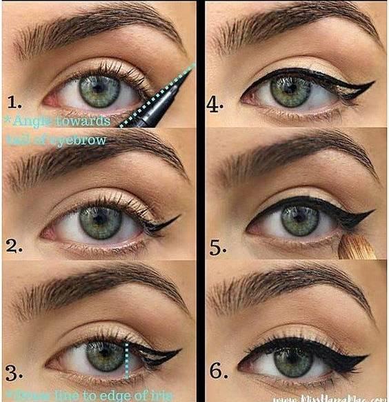 jak pomalować się eyelinerem