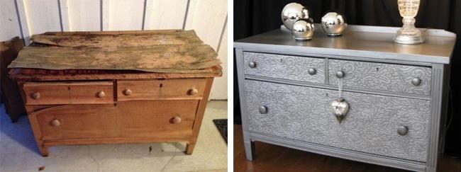 Renowacja starych mebli i 27 niezwykłych inspiracji