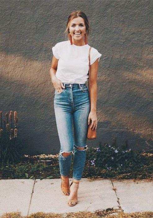 stylowe porady - jednokolorowe koszulki