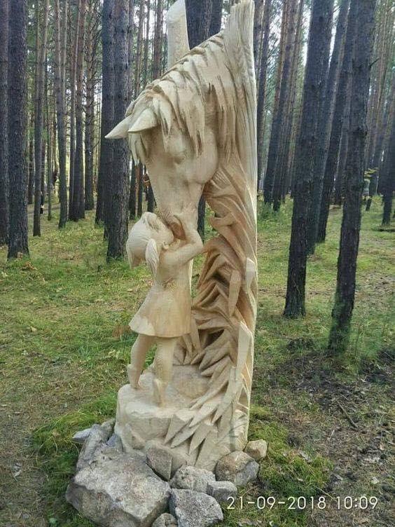 rzeźby z drewna 4