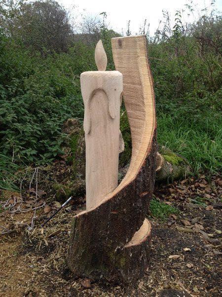 rzeźby z drewna 12