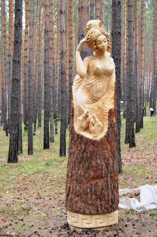 rzeźby z drewna 14