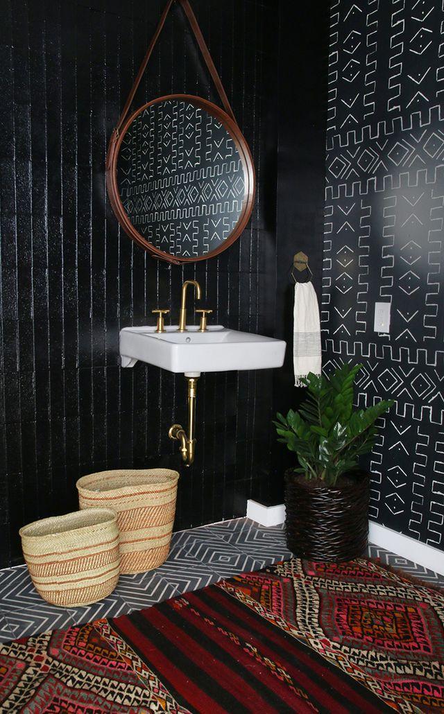 jak urządzić czarną łazienkę 3