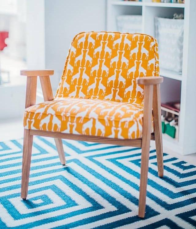 meble PRL - fotel 366