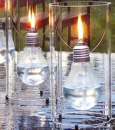 lampka z żarówki