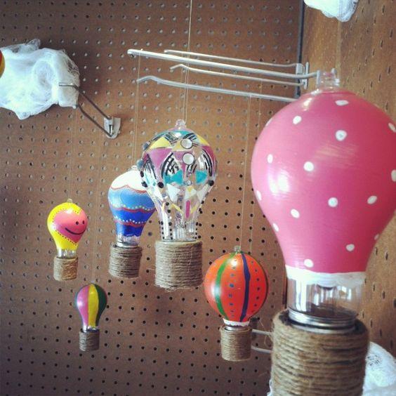 balony z żarówki