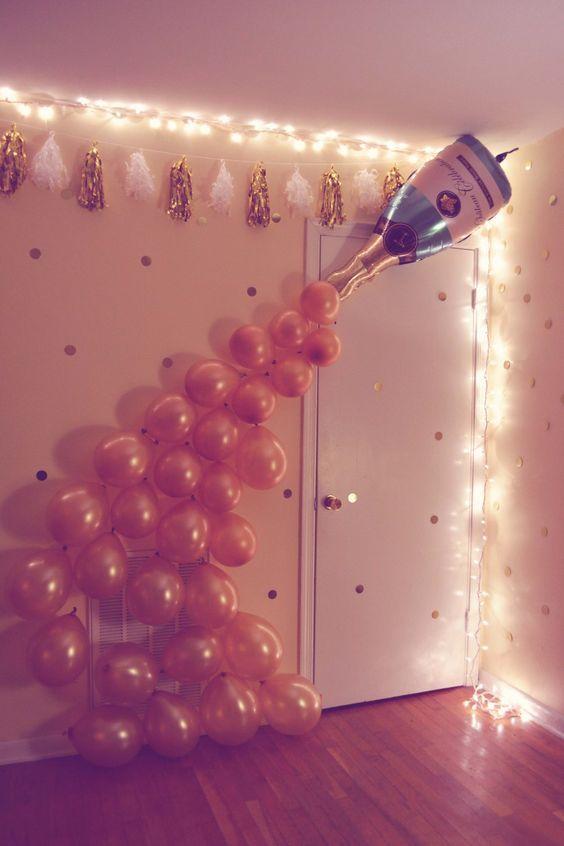 balony na sylwestra
