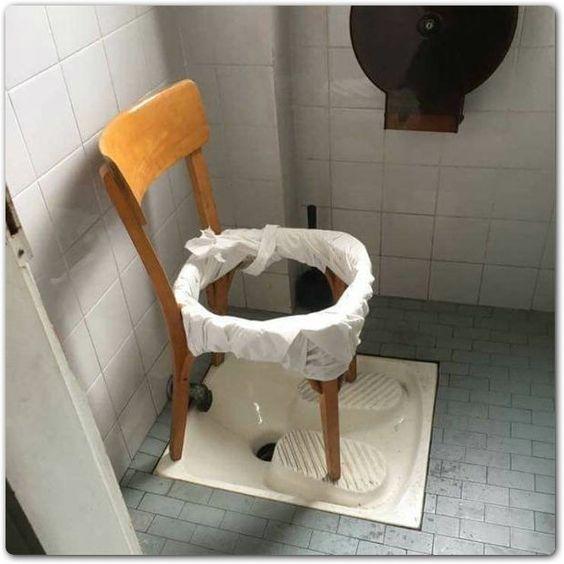 toaleta na narciarza
