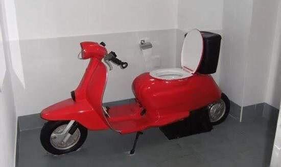 toaleta skuter