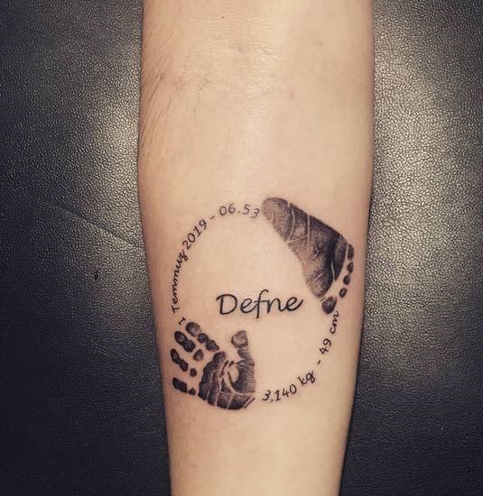 tatuaż macierzyński