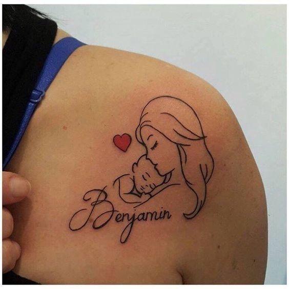 tatuaż rodzicielski