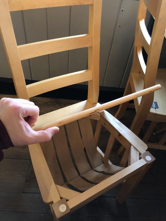 krzesło ze schowkiem