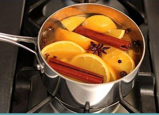 potpouri z pomarańczy