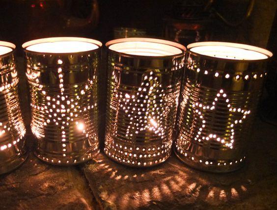 puszki świeczniki