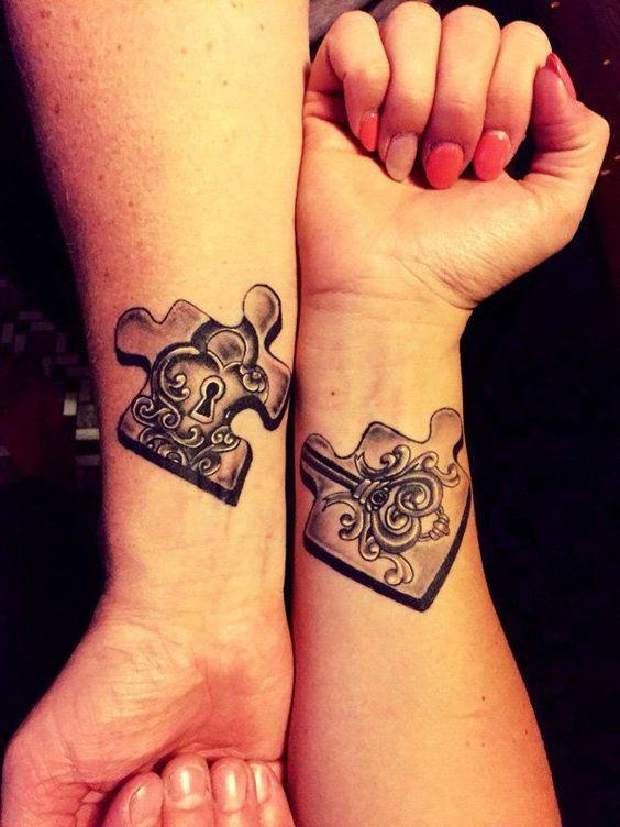 tatuaż par