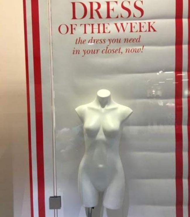 manekin bez ubrania