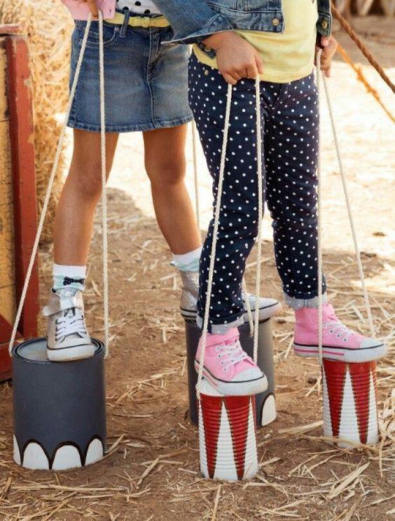 aktywności outdoorowe puszki do chodzenia